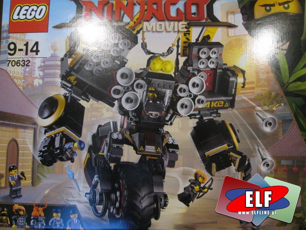 Lego Ninjago Movie, 70632 Mech wstrząsu, klocki