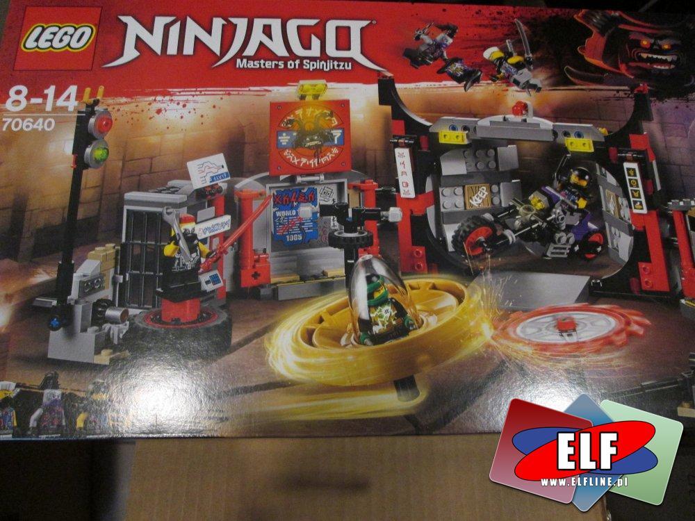 Lego Ninjago, 70640 Kwatera główna S.O.G., klocki