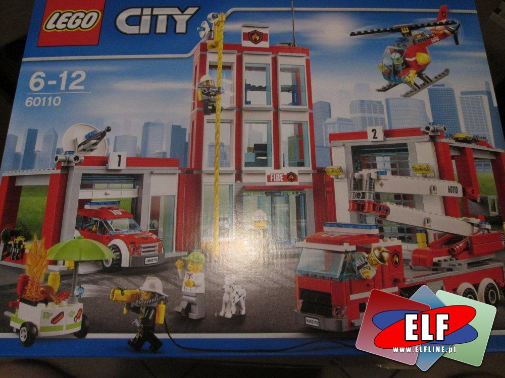 Lego City, 60141 Posterunek policji, 60110 Remiza strażacka, 60174 Górski posterunek policji, klocki