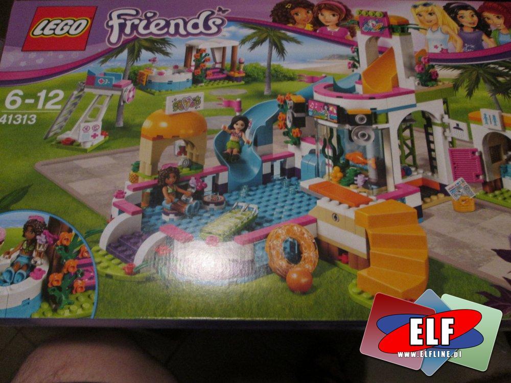 Lego Friends, 41313 Lego friends, basen w heartlake, klocki