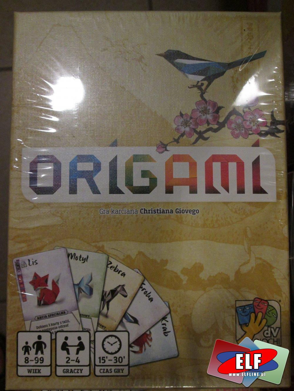Gra karciana Origami, Gry