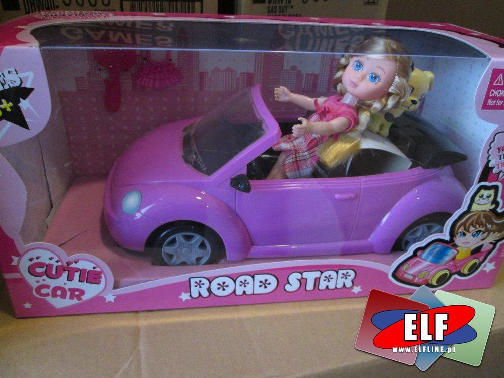 Road Star, Lalka z samochodem, Lalki, samochód, samochody, laleczki