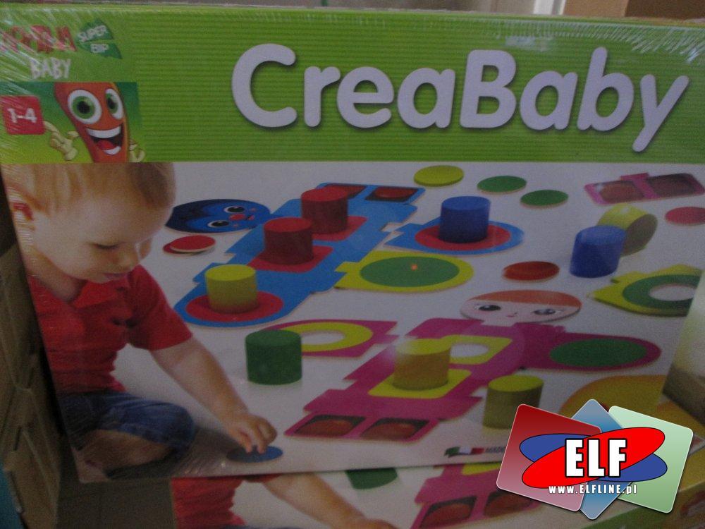 Gry edukacyjne CreaBaby BabyFarm, Progresywne Puzzle i inne, Zabawki i gry edukacyjne dla dzieci