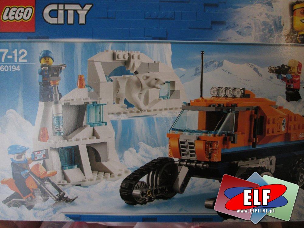 Lego City 60194 Arktyczna terenówka zwiadowcza, 60193 Arktyczny transport powietrzny, klocki