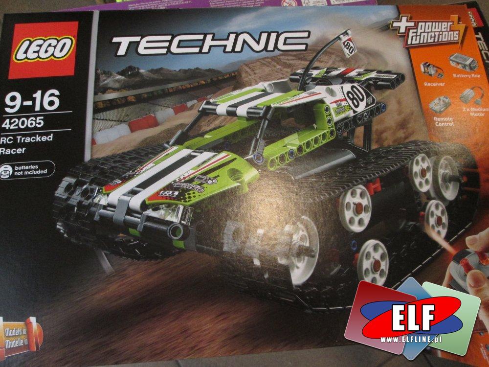 Lego Technic, 42065 Zdalnie sterowana wyścigówka, klocki