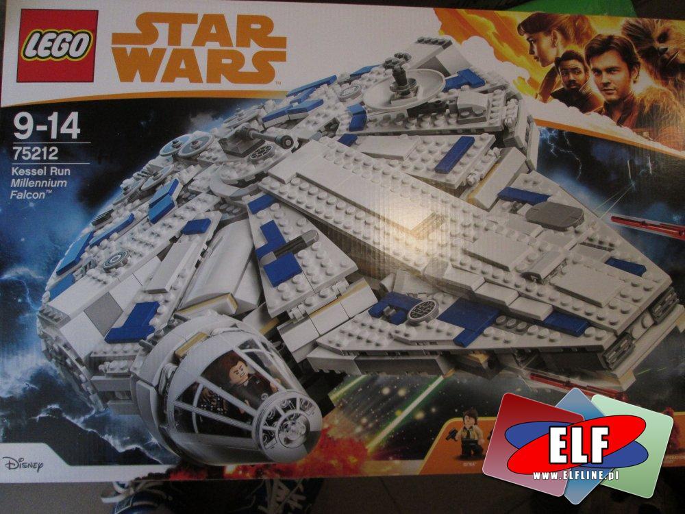 Lego Star Wars, 75212 Sokół Millennium, klocki StarWars