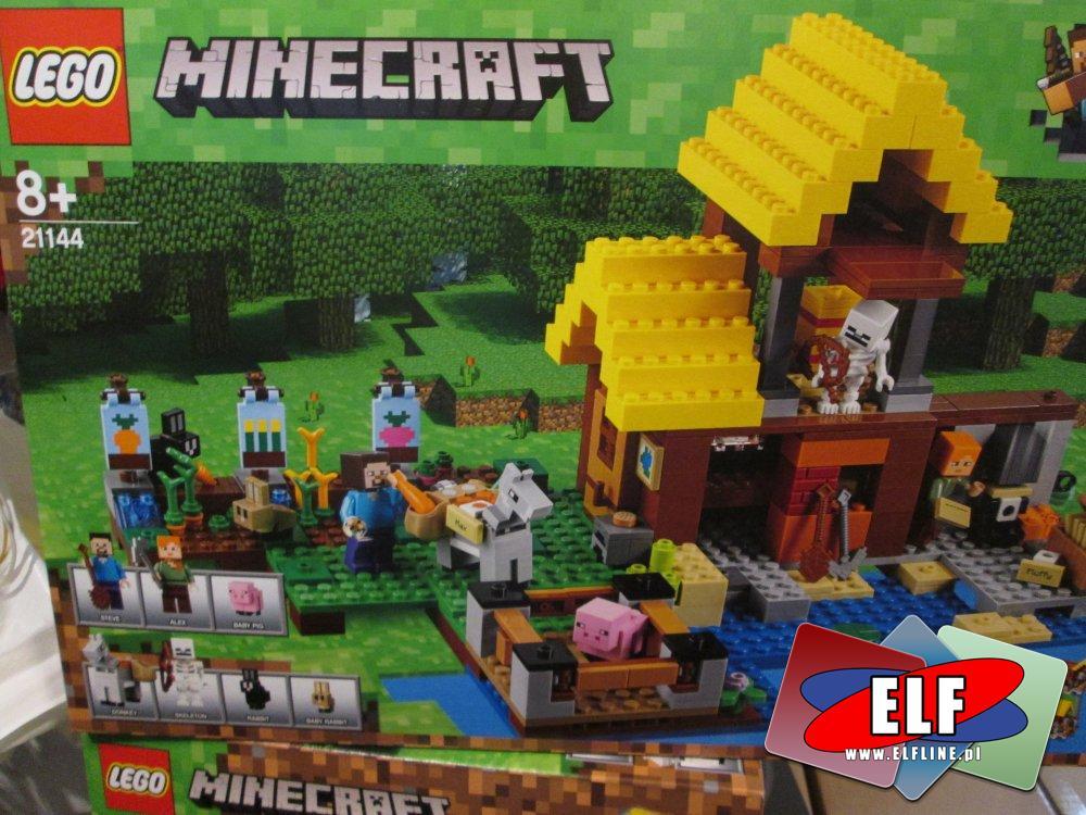 Lego Minecraft, 21144 Wiejska chatka, klocki
