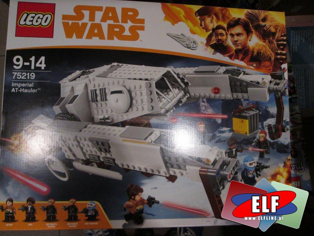 Lego Star Wars, 75219 Imperial AT-Hauler, klocki StarWars