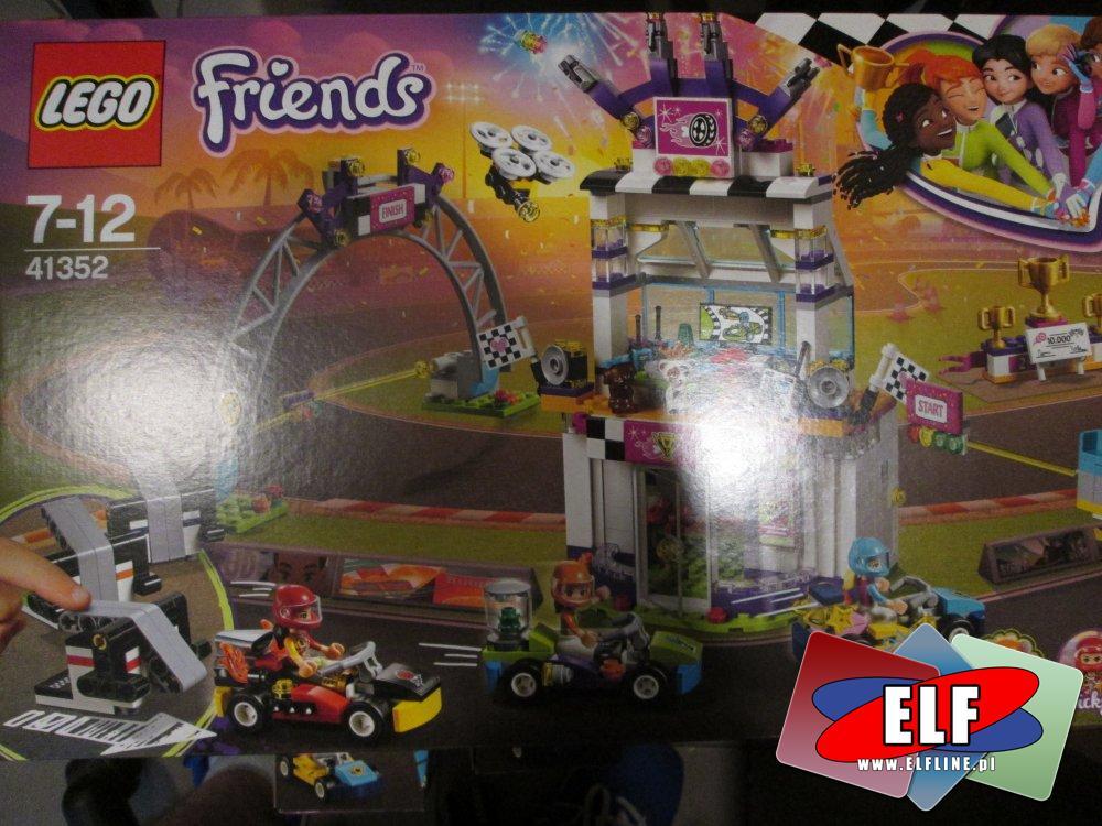 Lego Friends, 41352 Dzień wielkiego wyścigu, klocki