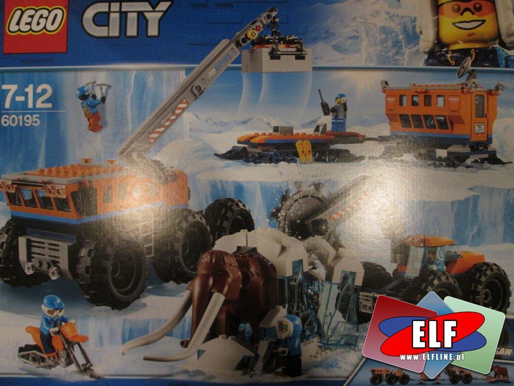 Lego City, 60204 Szpital, 60195 Arktyczna baza mobilna, klocki