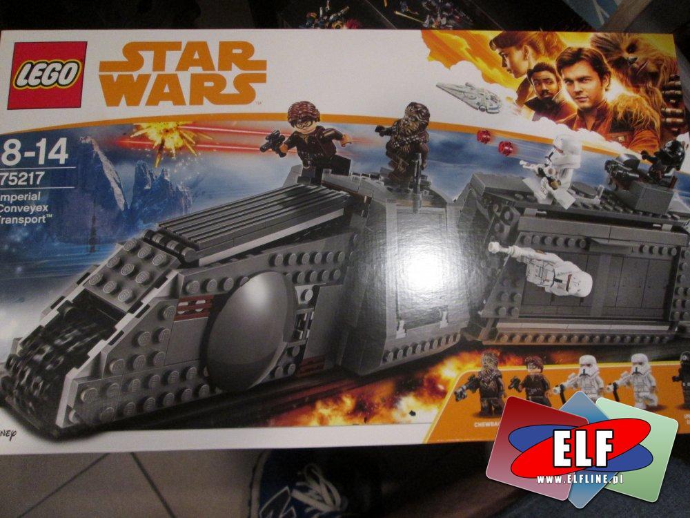Lego Star Wars, 75217 Imperialny transporter Conveyex, klocki StarWars