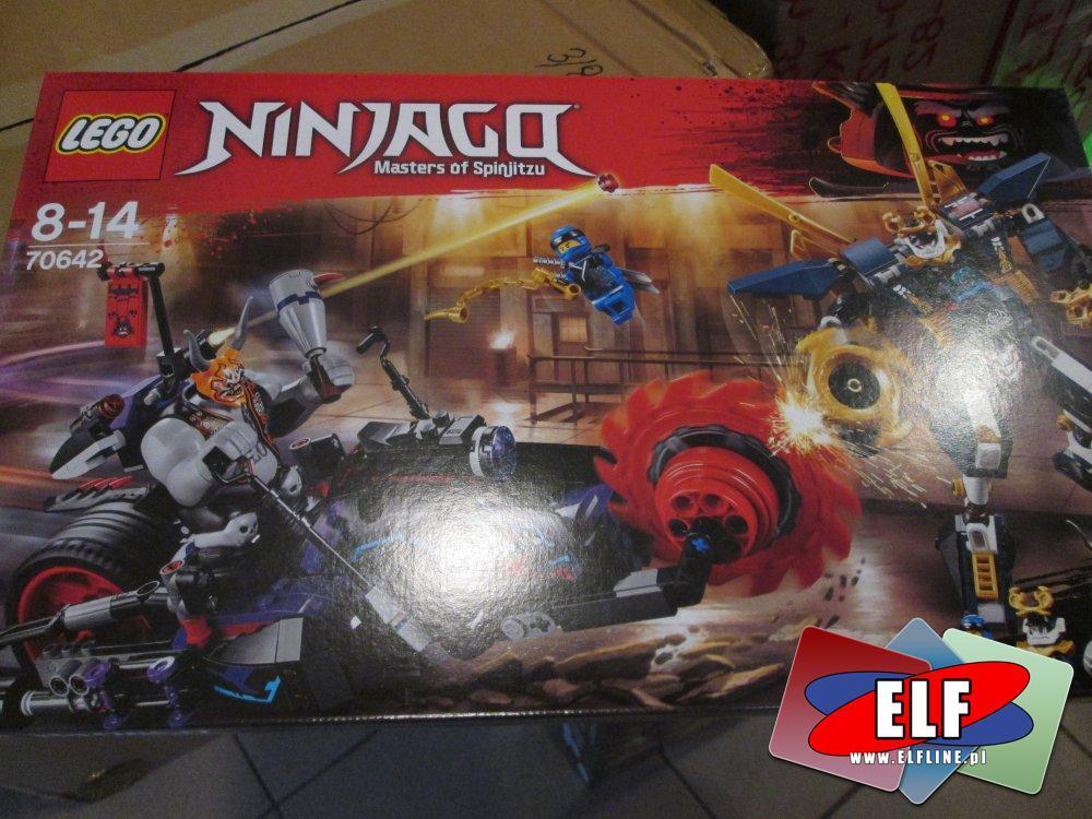Lego Ninjago, 70642 Killow kontra Samuraj X, klocki
