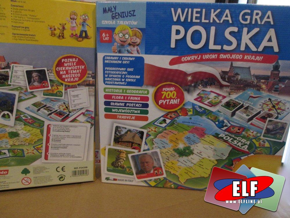 Wielka Gra Polska i inne gry, Mały geniusz, gry edukacyjne