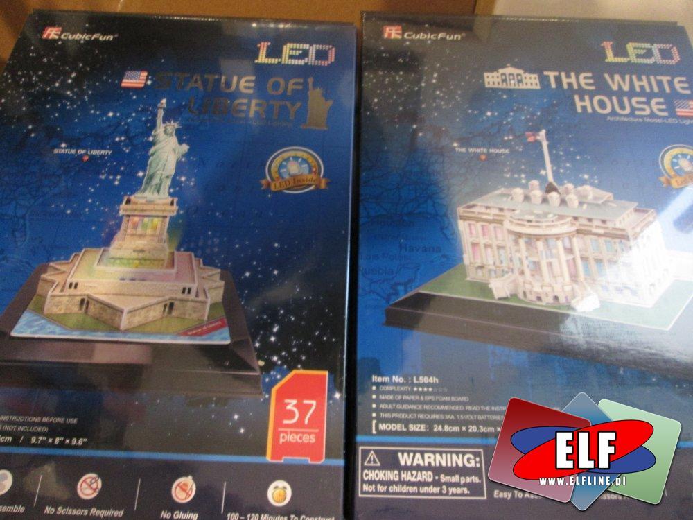 Puzzle LED 3D, Puzzle 3D Ledowe