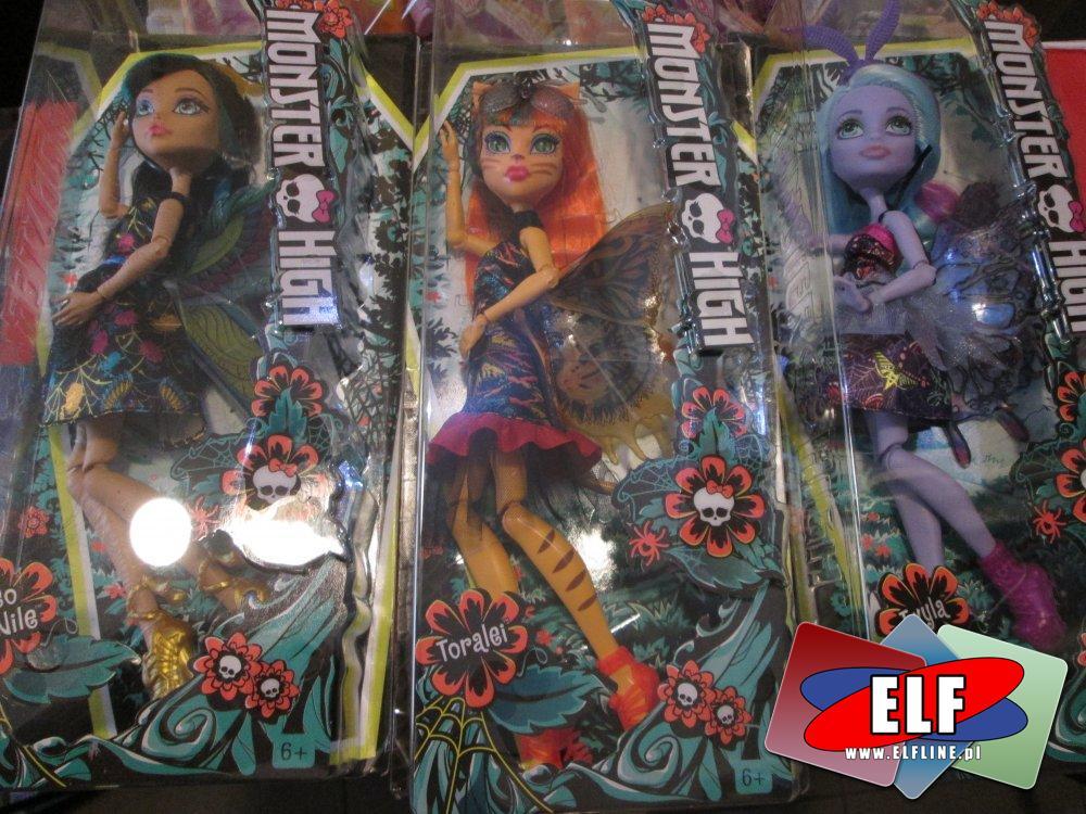 Monster High, lalka, lalki, upiorne lalki