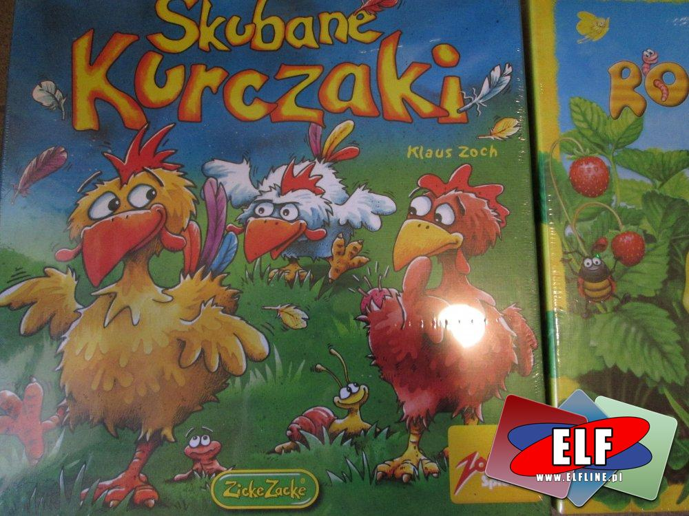 Gra Skubane Kurczaki, Gnaj Robaczku, Gry