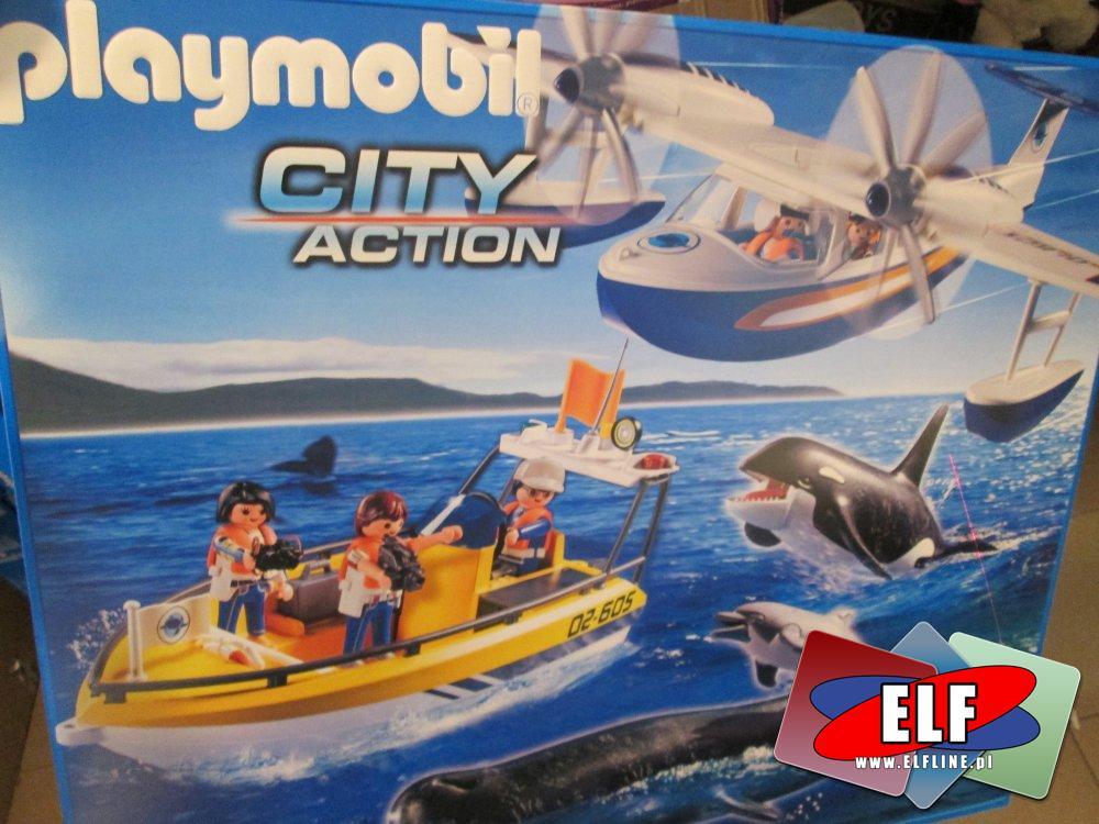 Playmobil zestaw ze statkiem