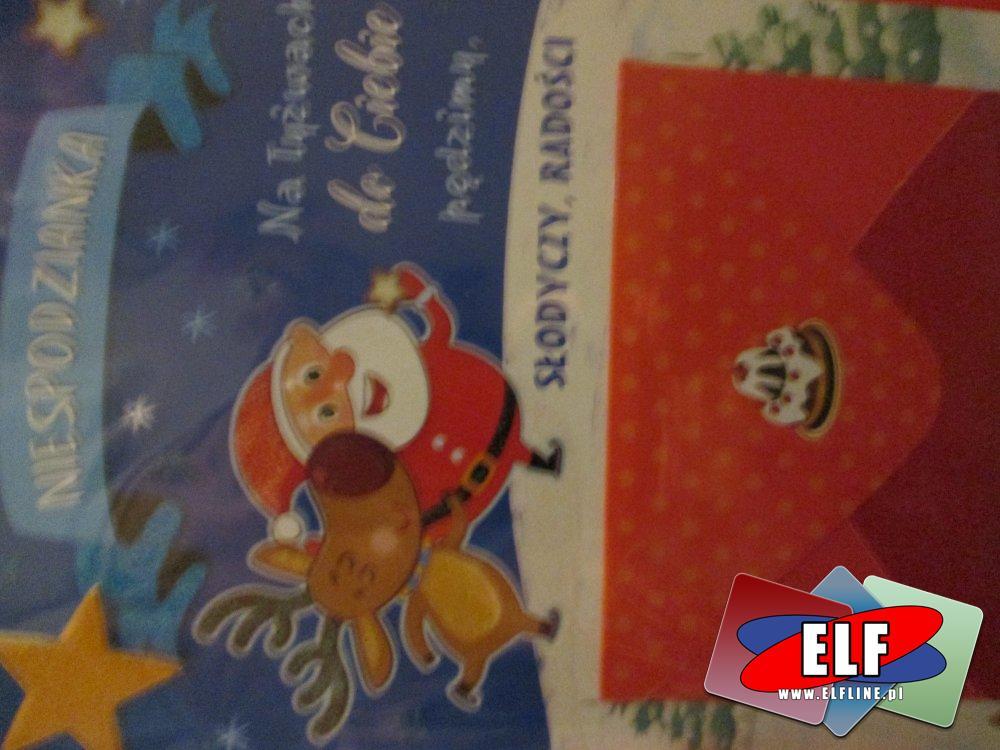 Laurki przestrzenne i Kartki świąteczne, kartka świąteczna, laurka przestrzenna na święta Bożego Narodzenia