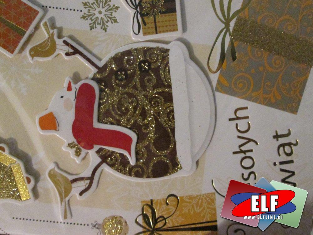 Laurka przestrzenna i Kartka świąteczna, laurki przestrzenne, kartki świąteczne na święta Bożego Narodzenia