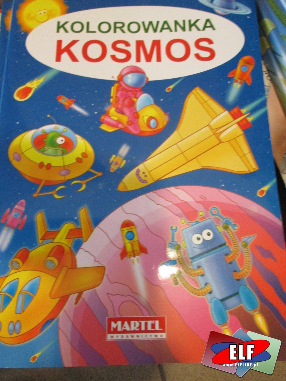Kolorowanka, Moje pierwsze cyferki, Kosmos, Kolorowanki
