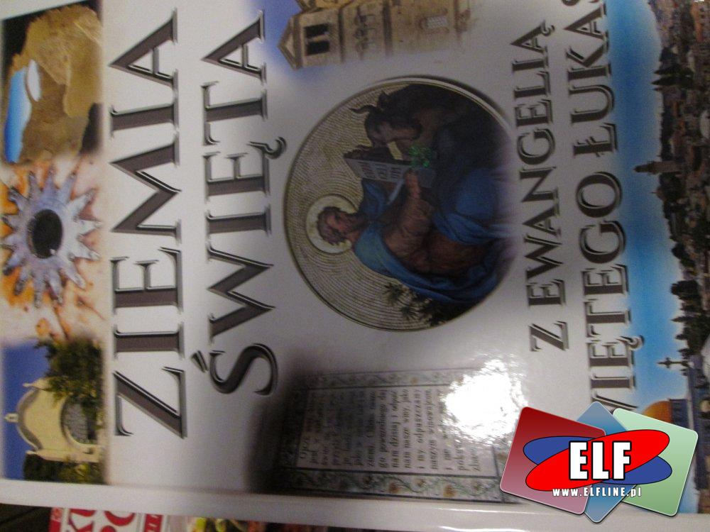Książka, Ziemia Święta, Z Ewangelią Świętego Łukasza, Książki