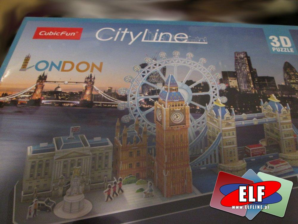 Puzzle 3D, Londyn, Casa Battlo i inne