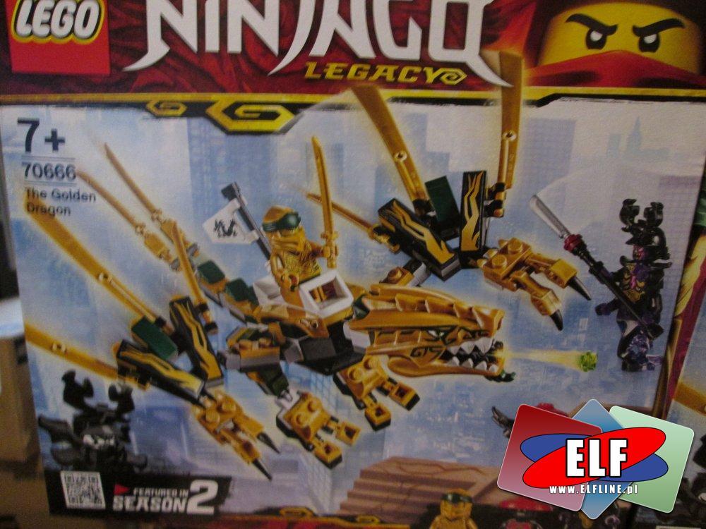 Lego Ninjago 70666 Złoty Smok Klocki W Sklepie Elf