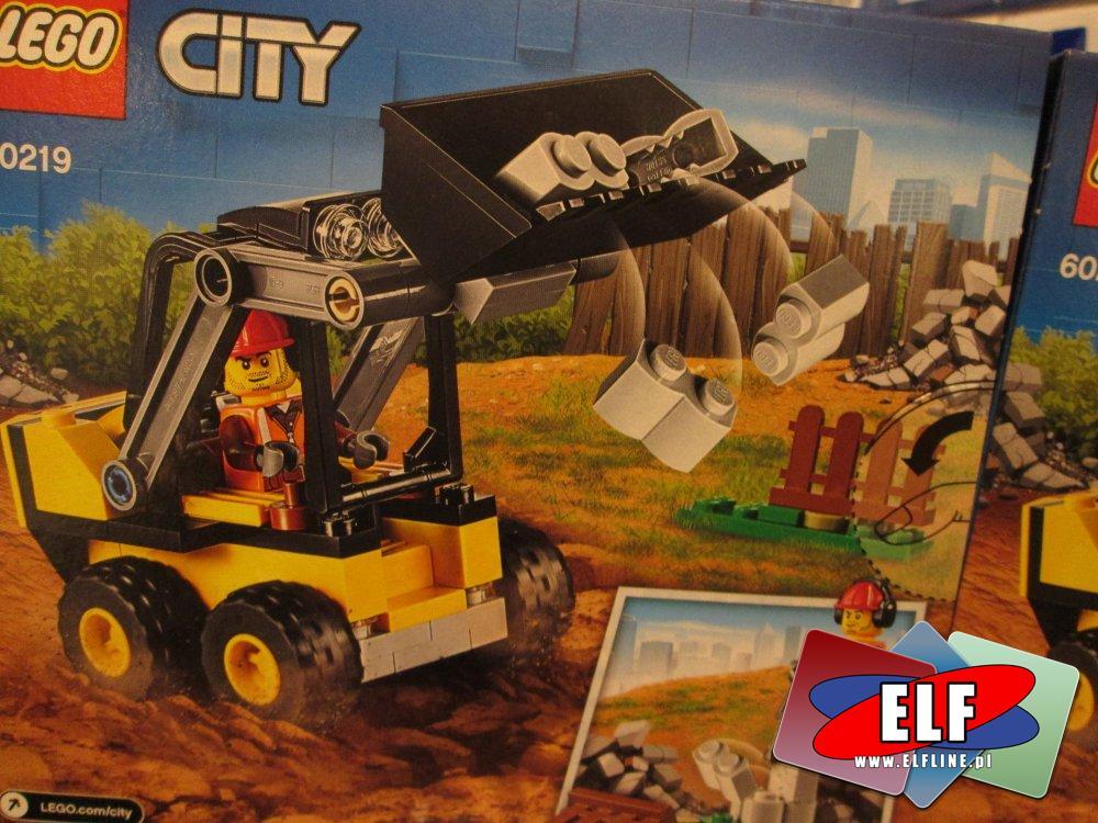 Lego City, 60219 Koparka, 60239 Samochód policyjny, klocki