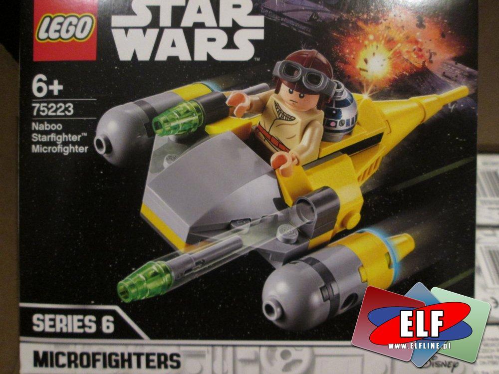 Lego StarWars, 75223 Naboo Starfighter, klocki Star Wars