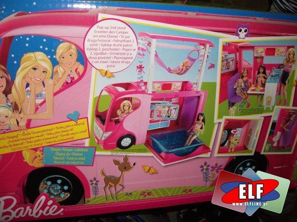 Autobus barbie, super zabawa, lalki w aucie, autobusie, wycieczka, auto wycieczkowe, autobus rozkładany dla lalek