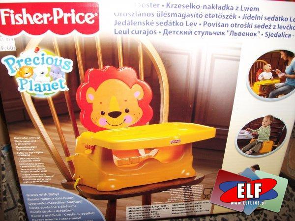Krzesełko, nakładka z lwem, fisher price