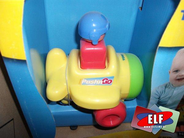 Zabawki naciśnij i jedź, tomy