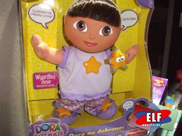 Fisher-Price lalka dora na dobranoc i dora śpiewająca, lalki