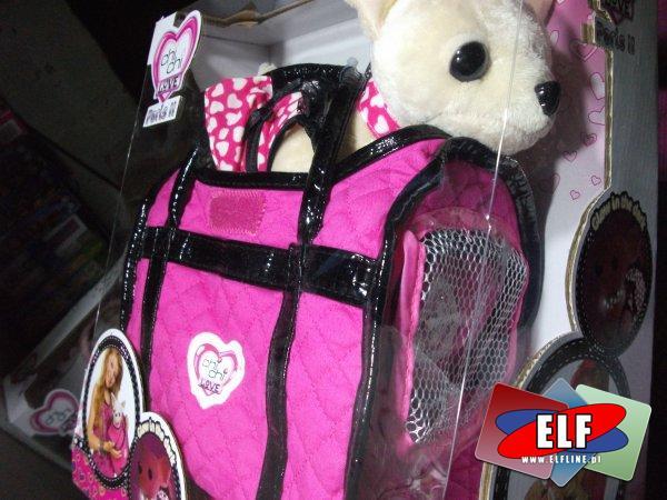 Chi CHi love hot fashion w torebce, z torebką, piesek, pieski, pies, psy, chichi, maskotka, maskotki, pluszak, pluszaki