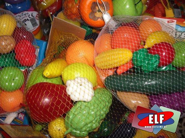 Warzywa i owoce plastikowe, warzywo, owoc, plastikowy, akcesoria do sklepu, zabawa w sklep, sklepik, dla sklepu