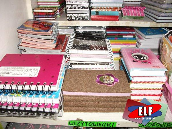 Notesy, notatniki, kołonotatniki, kołonotesy