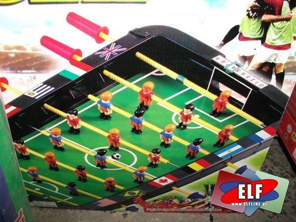 Piłkarzyki, football na sprężynkach i z rączkami