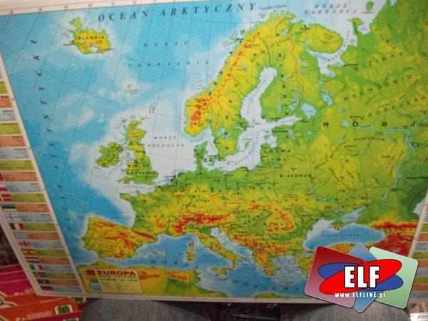 Podkład na biurko mapa, podkłady na biurko mapy