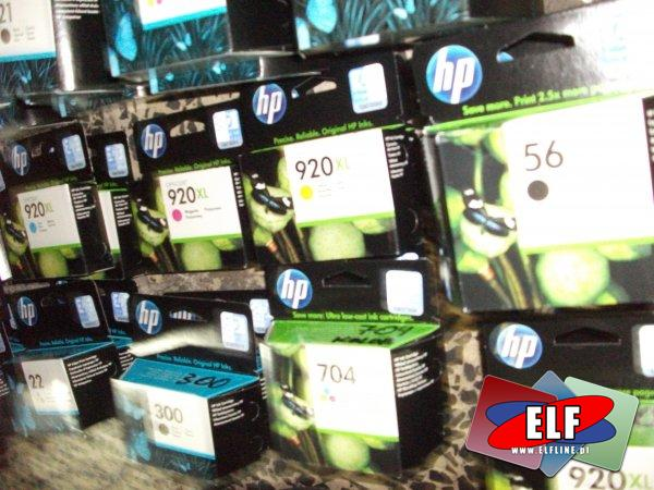 Tusze HP 21 22 300 920 920XL i inne, tusz, toner, tonery, wkład, wkłady, Hewlett-Packard