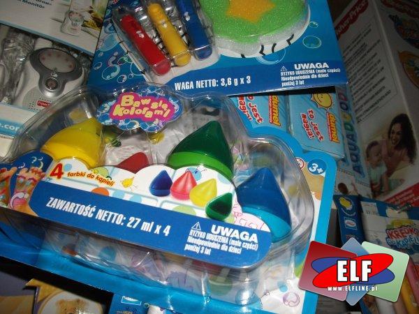 Zabawki do wody i Zabawki dźwiękowe