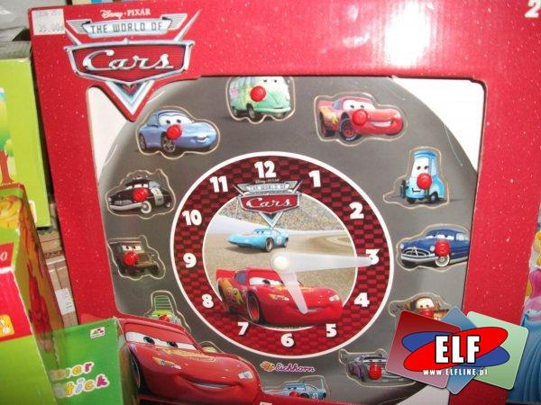 Zegar edukacyjny cars