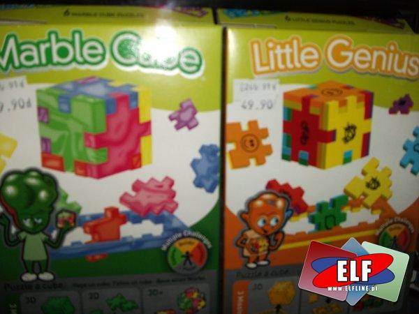 Profil cube puzzle 3d i piankowe