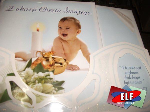 Karnet na chrzest