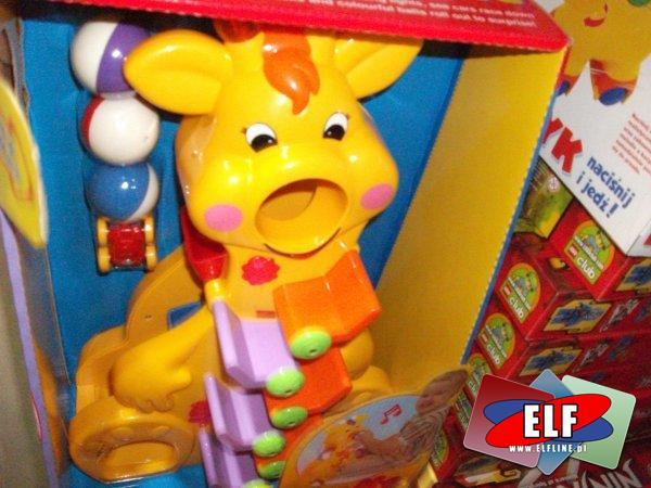 Żyrafa edukacyjna z dźwiękami dla małych dzieci, kreatywna, kreatywny, kreatywne, edukacyjna, edukacyjne, edukacyjny, zabawka, zabawki, dla malucha...