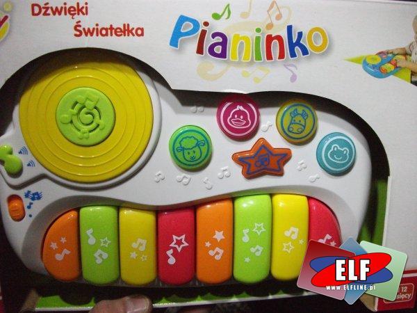 Pianinko dzwiękowe dla malucha smilly z dźwiękami, muzyczne, instrument, instrumenty, zabawka, zabawki, z dźwiękiem, dźwiękowa, pianino, pianina
