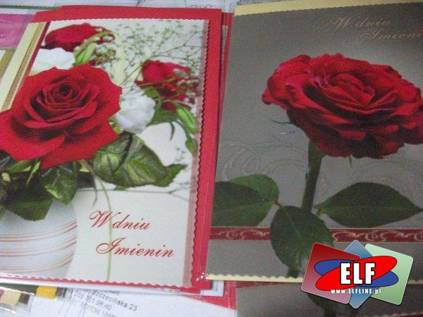 Karnety imieninowe, kartki na imieniny, kartka, karnet, życzenie, życzenia, imieninowy karnecik życzeniowy