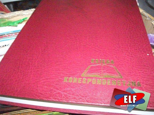Dziennik korespondencyjny, dzienniki korespondencyjne, druk, druki