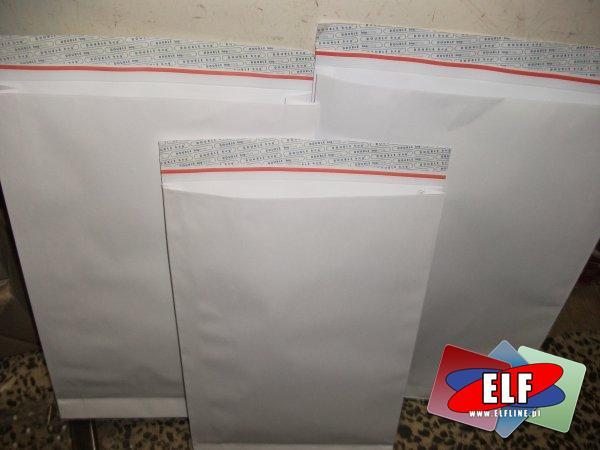 Koperty rozszerzane dwuwarstwowe 40mm i 60mm grubości różne rozmiary, koperta rozszerzana