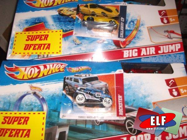 Hot wheeals, super oferta, tor z gratisowym samochodzikiem, samochód, samochody, auto, auta, pojazd, pojazdy tor, tory
