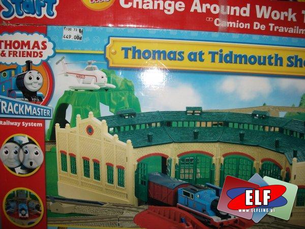 Thomas stacja kolejowa, kolejka